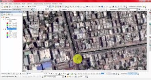 How to georeference image with a referenced image in ArcGIS