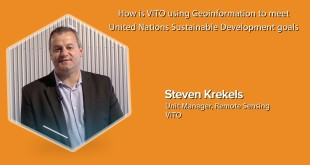 Know how is VITO using Geoinformation to meet United Nations Sustainable Development Goals
