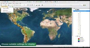 New Features of SuperGIS Desktop 10: Temporal Slider Tutorial