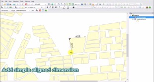 New Features of SuperGIS Desktop 10: Dimension Tool Tutorial