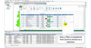 Transfer selections and filters between ArcGIS and Excel