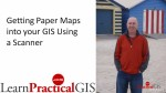 Using a Scanner to convert a paper map into a GIS map