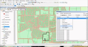 ArcGIS tutorial : Setting up geodatabase topology