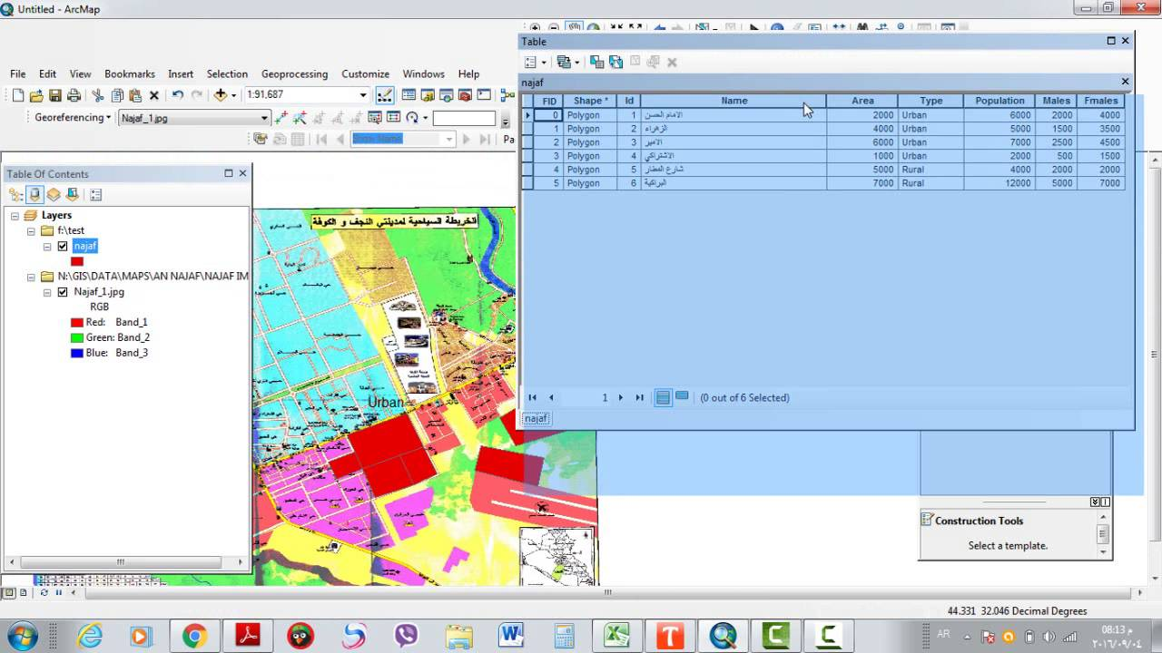 Building a query expression in ArcMap GIS