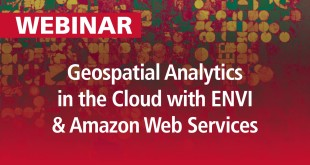 Geospatial Analytics in the Cloud with ENVI and Amazon Web Services | Webinar