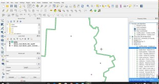 How to buffer line feature in QGIS 2.16 using processing tool