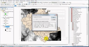 Hydrological analysis in ArcGIS