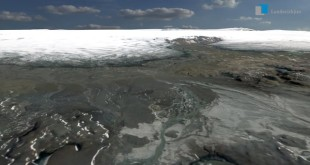 Interactive 3D visualization of Iceland