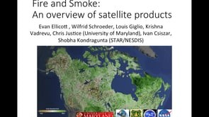 Remote Sensing Products and Tools for Fire Science 2