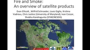 Remote Sensing Products and Tools for Fire Science