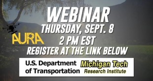 Remote Sensing & Spatial Information Technologies Webinar Announcement – Michigan Tech Research Institute