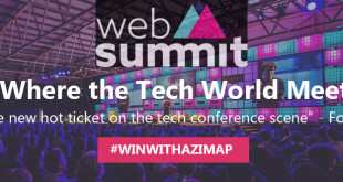 Win a ticket to Web Summit with Azimap
