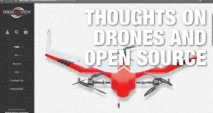 Thoughts on Drones and Open Source Software
