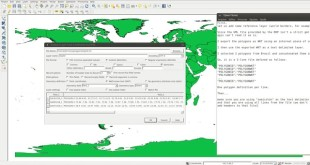 Using QGIS to visualize WKT files.