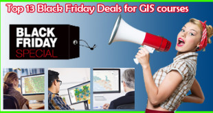Top 13 Black Friday Deals for GIS courses