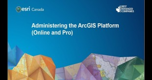 Administering the ArcGIS Platform (Online and Pro)