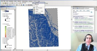 Creating a Contour Map from a Digital Elevation Model in ArcGIS