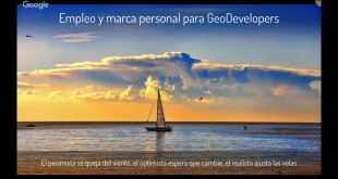 Empleo y marca personal para geodevelopers