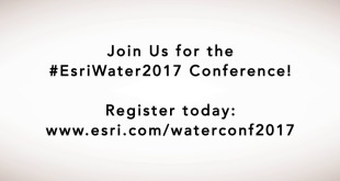 Esri Water Conference: Why Attend