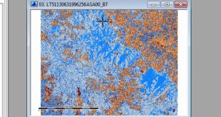 Forest Cover Change Analysis – Landsat + SAGA GIS