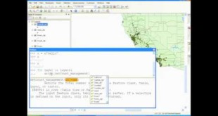 Getting Started with Python in ArcGIS – HD