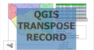 QGIS ATLAS how to transpose a record attribute table