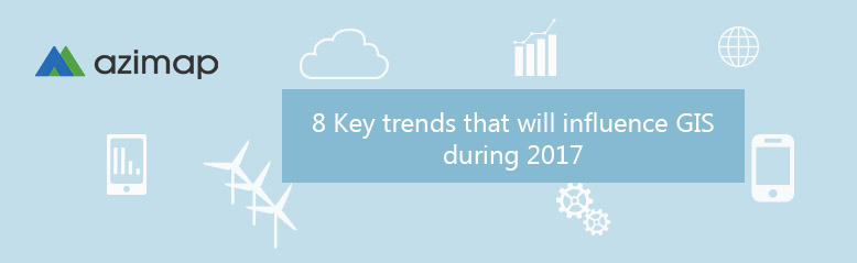 Key trends in GIS