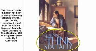 A Working Definition of Spatial Thinking