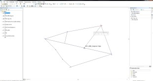 ArcGIS 10.2 – Draw perpendicular lines from vertices to the diagonal of a polygon