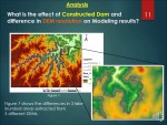 ArcGIS 10.3.1: Reservoir Modeling and assessment of its impact on physical environment