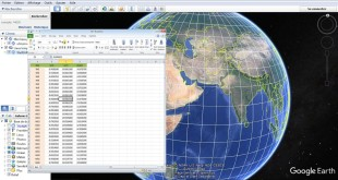 Importing Excel data to Google Earth Pro