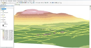 Make 3D in ArcGIS from shapefile
