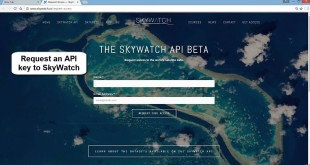 Searching and downloading Earth Observation data programmatically with SkyWatchr