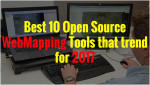 Best 10 Open Source Web Mapping Tools that trend for 2017