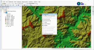 Create DEM and Slope from elevation contour line with Arcgis 10.4.1