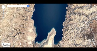 Earth Engine Timelapse Dead Sea