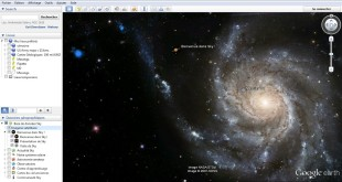 Explore the sky in Google Earth