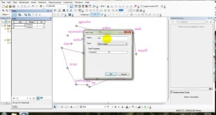 How to create shapefile in arcgis in khmer