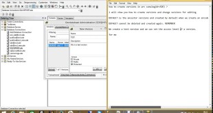 HOW TO CREATE VERSIONS IN ARCMAP AND ARC CATALOG ESRI ARCSDE