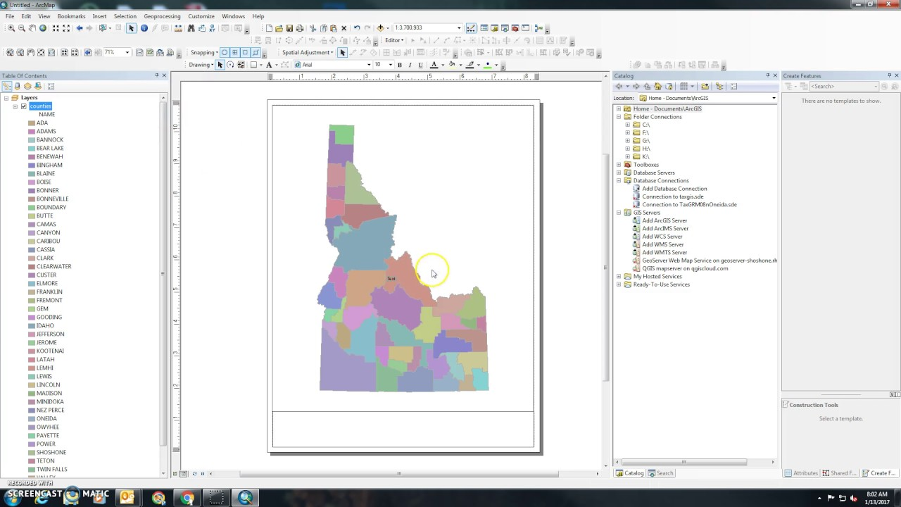 How to print a map in ArcGIS 10.x