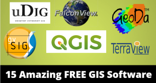 15 Amazing FREE GIS Software