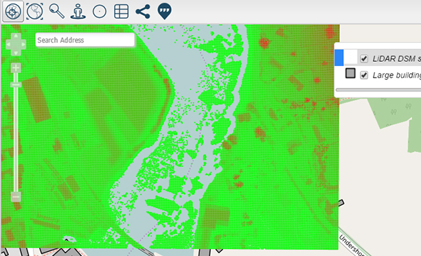 Azimap web GIS launch raster support and enhanced functionality