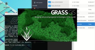 GRASS 7.2 — import and reproject vectors