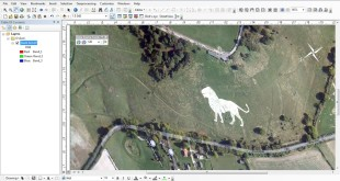 How rotate image in ArcGis