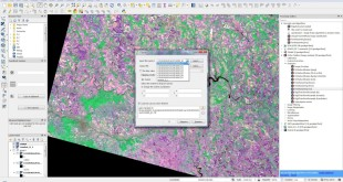 How to clip Landsat 8 image – Remote sensing