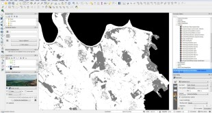 How to do automated supervised classification of Landsat 8 data in QGIS
