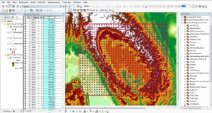 How to extract Elevations from DEM to points of sampling grid in ArcGis