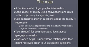Introduction to Geographic Data Models