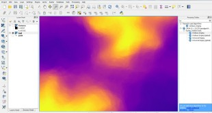 QGIS kriging interpolation