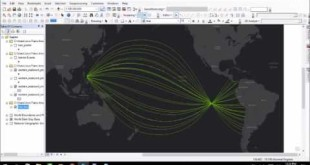 Visualizing Geodesic Curves in ArcGIS